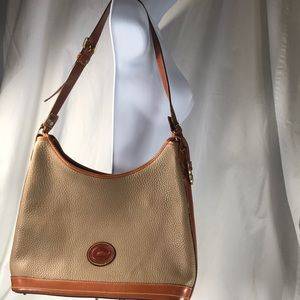Rooney& Bourke vtg pebbled leather handbag